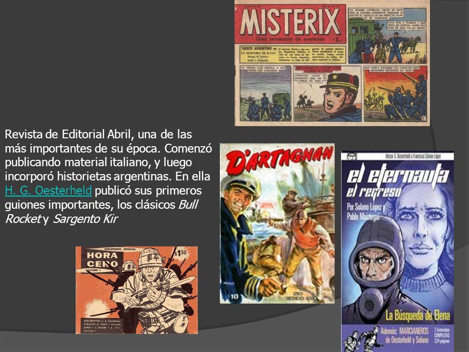Revista de Editorial Abril, una de las más importantes de su época