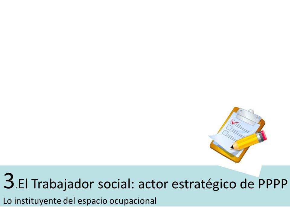 3.El Trabajador social: actor estratégico de PPPP