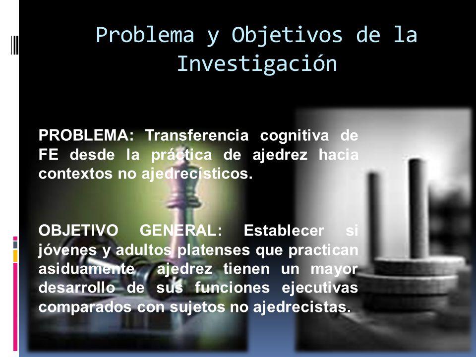 Problema y Objetivos de la Investigación