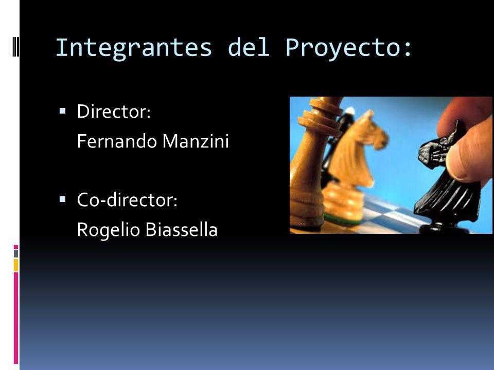 Integrantes del Proyecto: