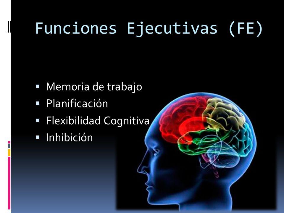 Funciones Ejecutivas (FE)
