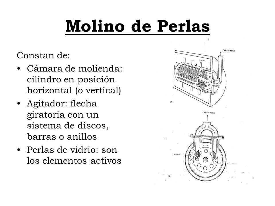Molino de Perlas Constan de: