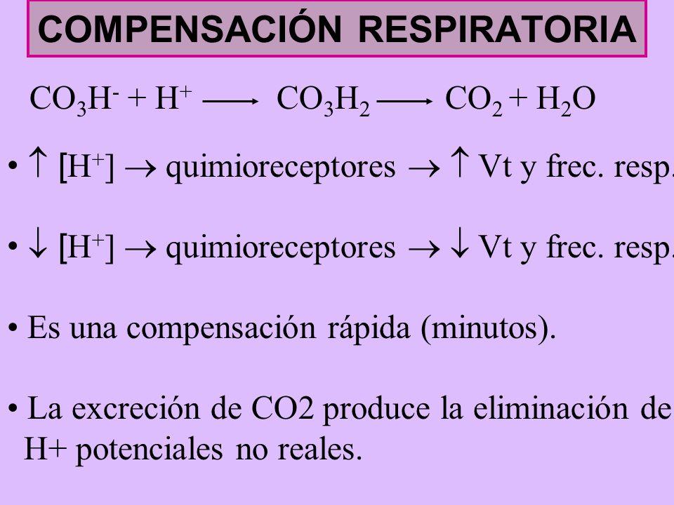 COMPENSACIÓN RESPIRATORIA
