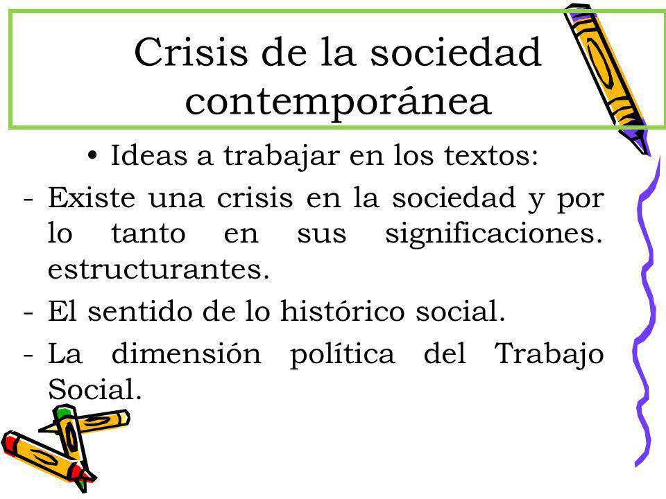 Crisis de la sociedad contempor nea ppt descargar for Caracteristicas de la contemporanea