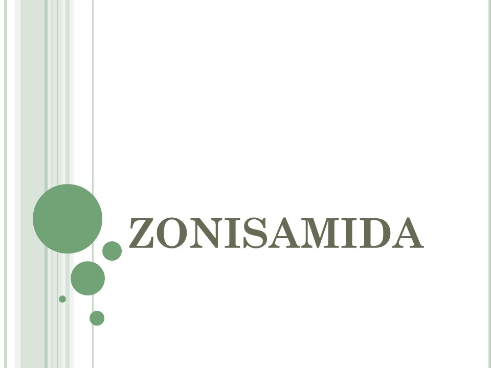 ZONISAMIDA
