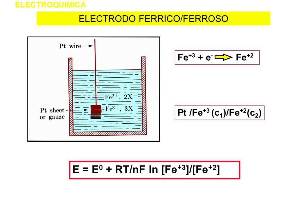 ELECTRODO FERRICO/FERROSO