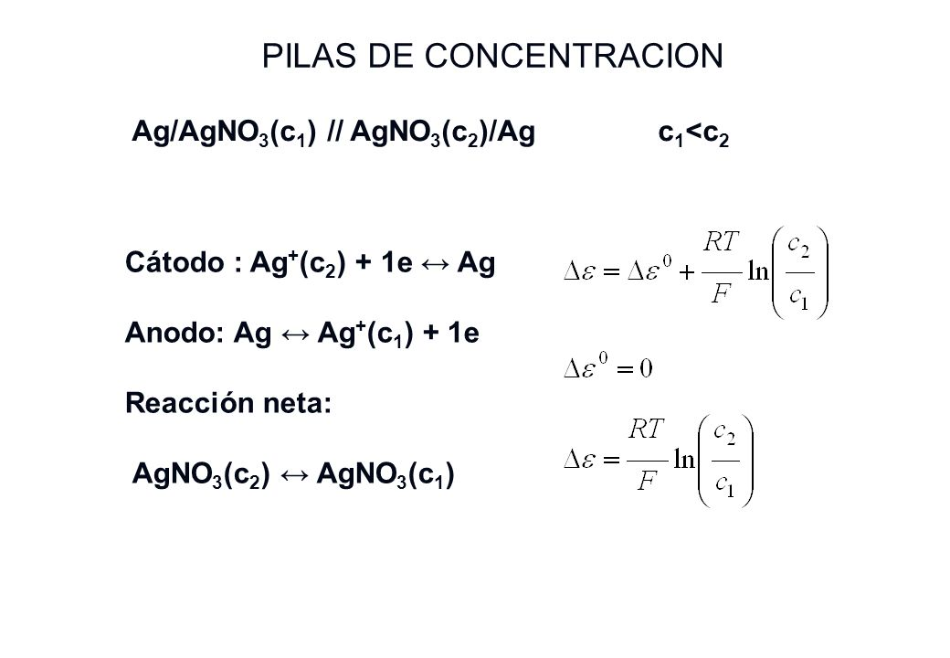 PILAS DE CONCENTRACION