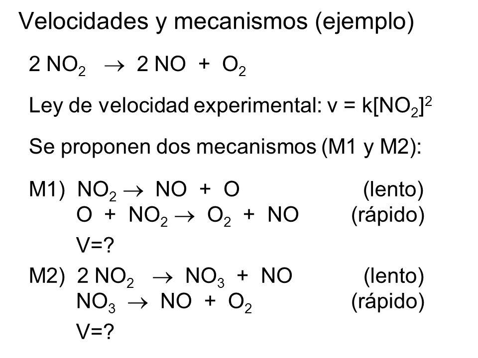 Velocidades y mecanismos (ejemplo)