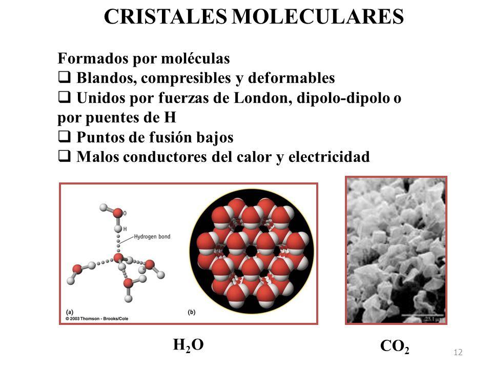 CRISTALES MOLECULARES