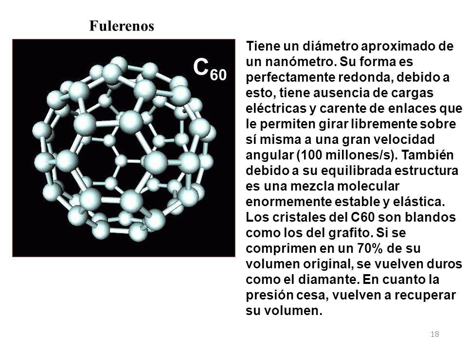 C60 Fulerenos.