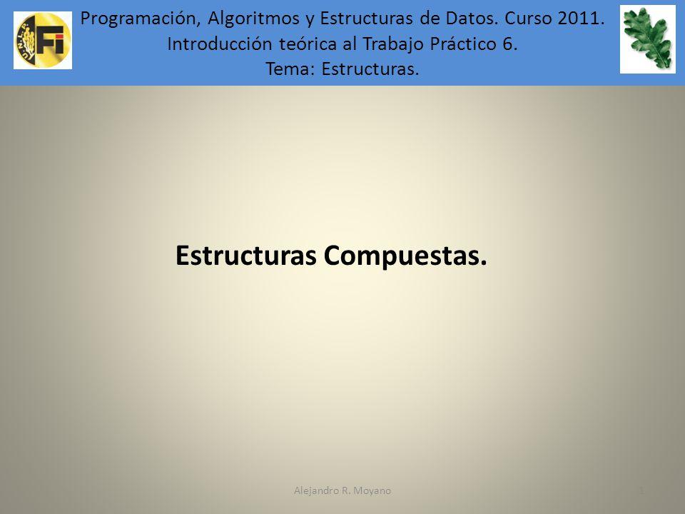 Estructuras Compuestas.