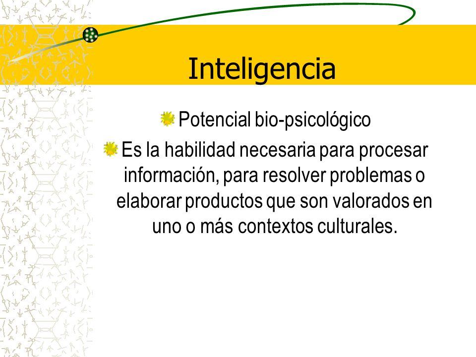 Potencial bio-psicológico