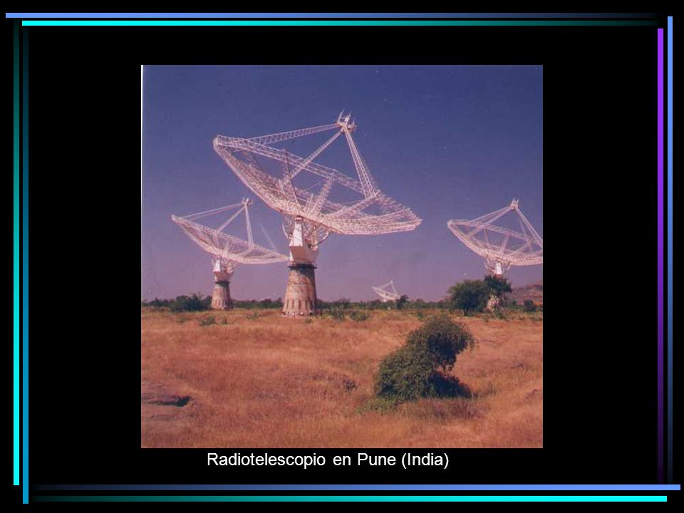 Radiotelescopio en Pune (India)