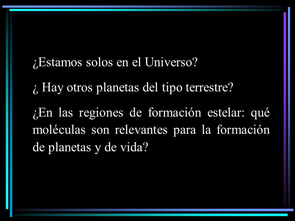 ¿Estamos solos en el Universo