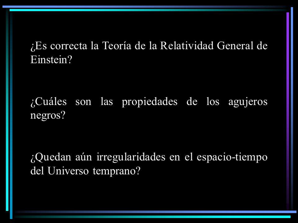 ¿Es correcta la Teoría de la Relatividad General de Einstein
