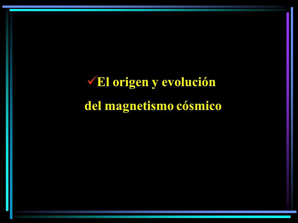 del magnetismo cósmico