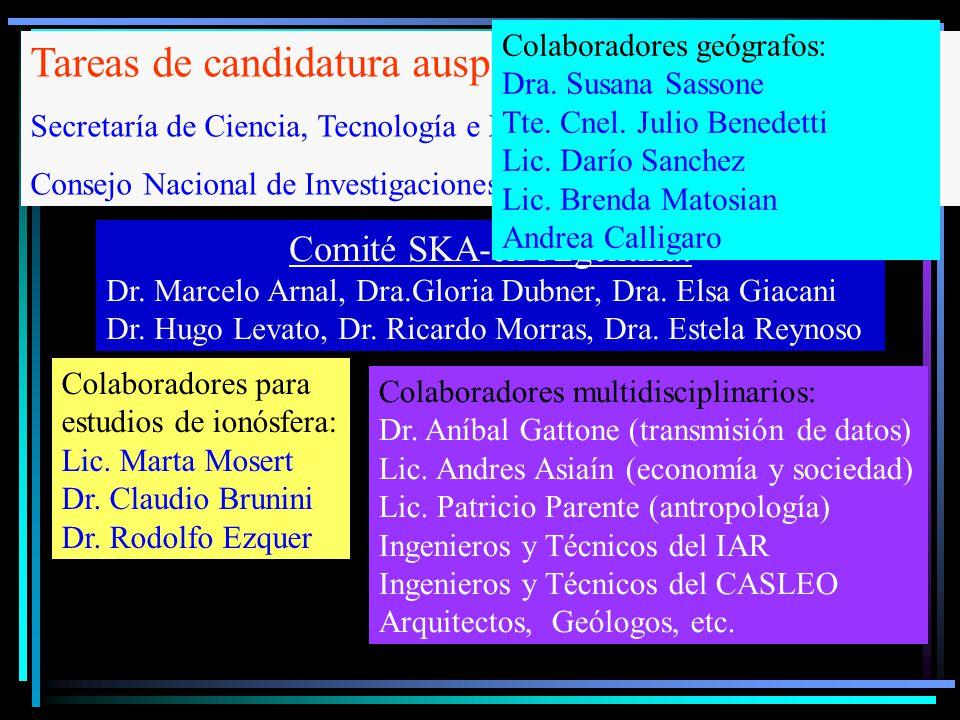 Comité SKA-en Argentina: