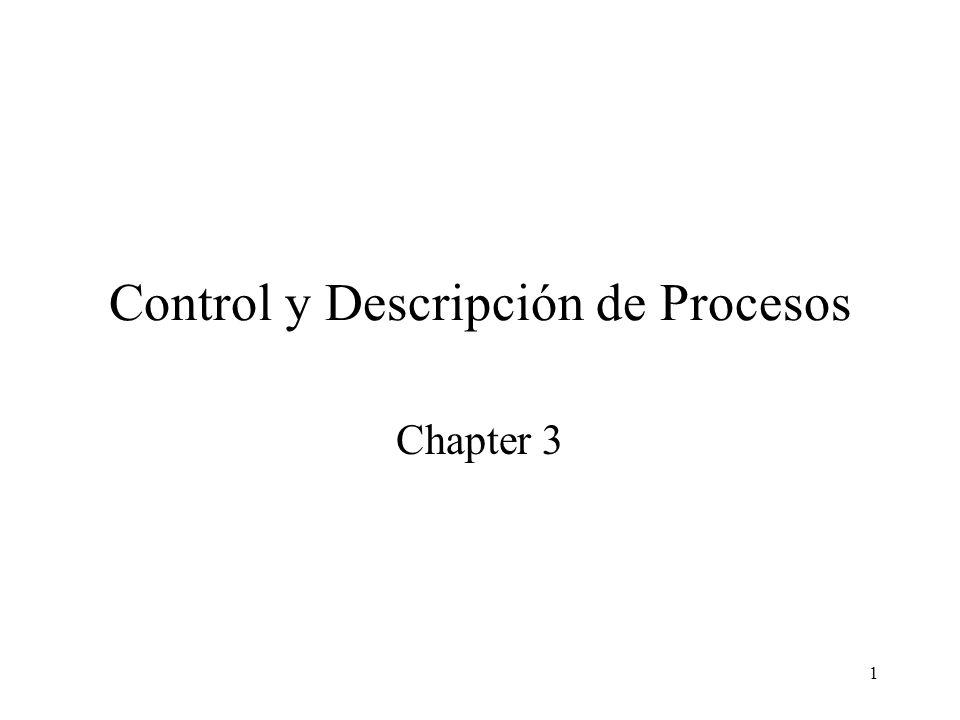 Control y Descripción de Procesos