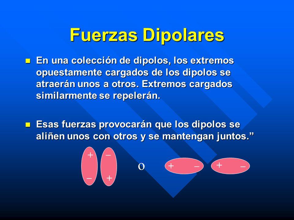 Fuerzas Dipolares