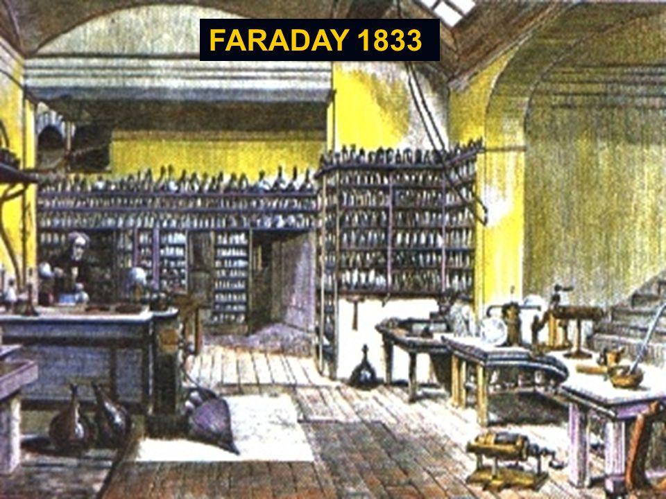 FARADAY 1833