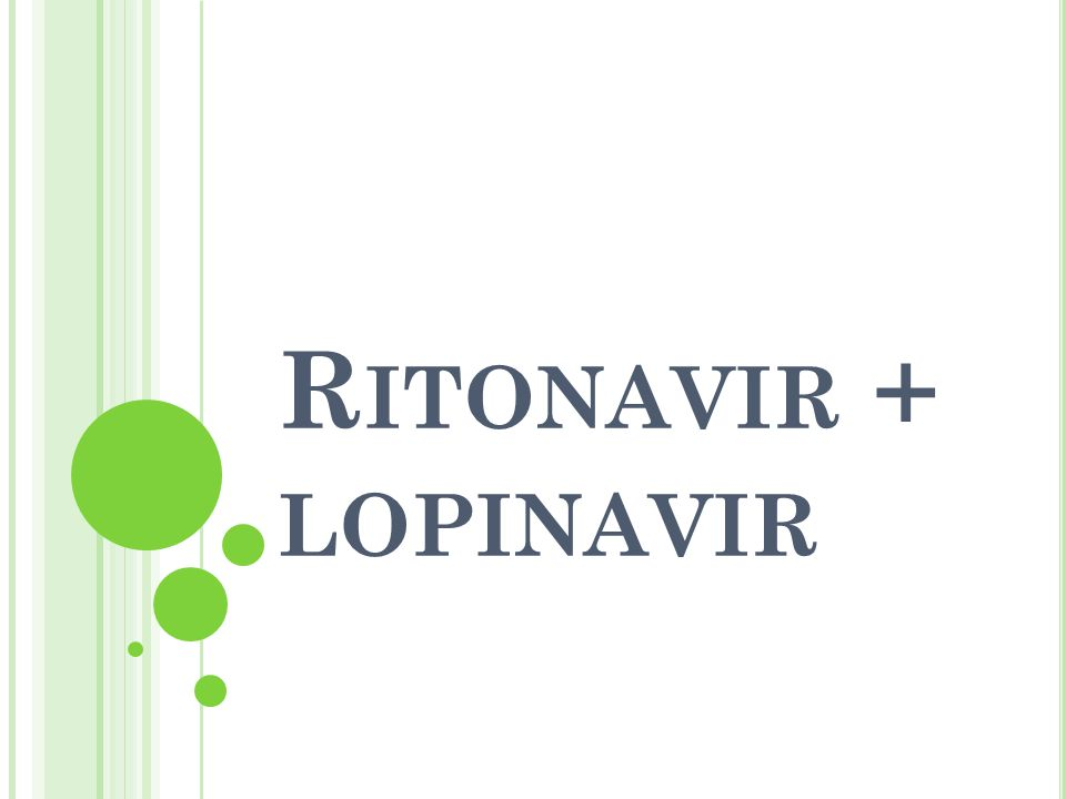 Ritonavir + lopinavir