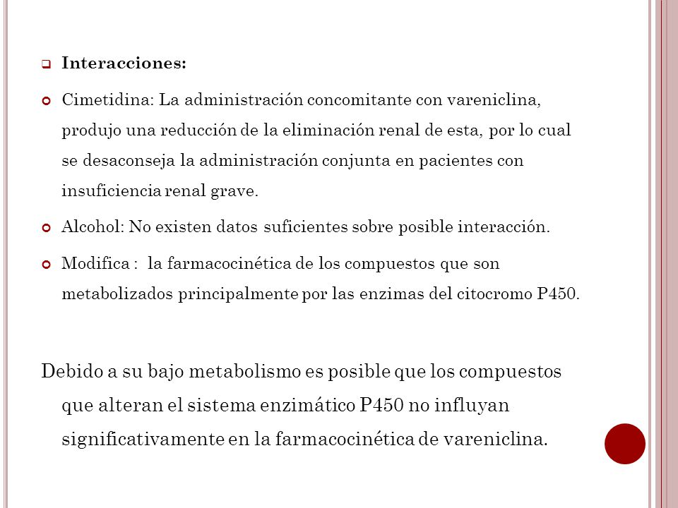 Interacciones: