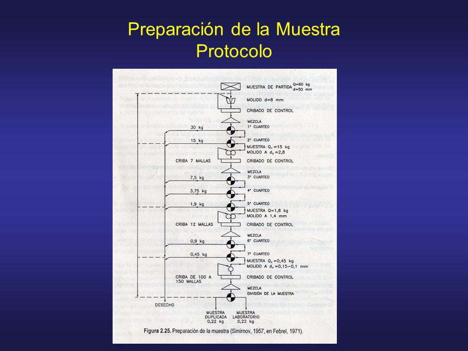 Preparación de la Muestra Protocolo
