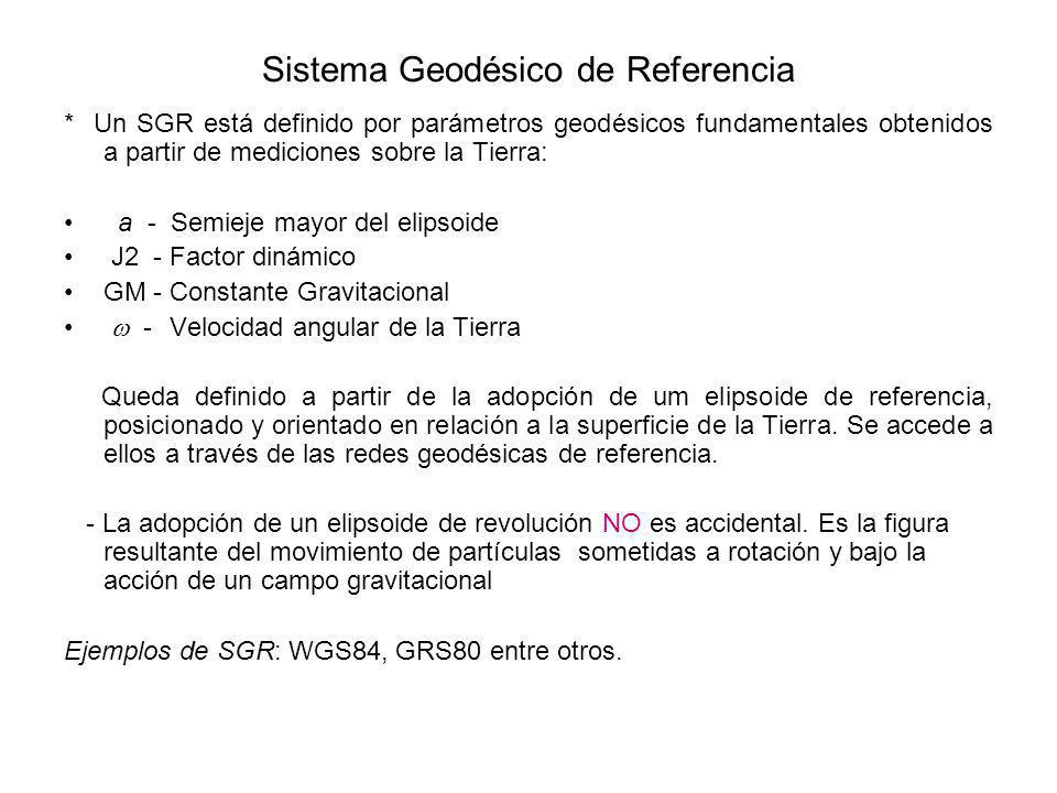 Sistema Geodésico de Referencia