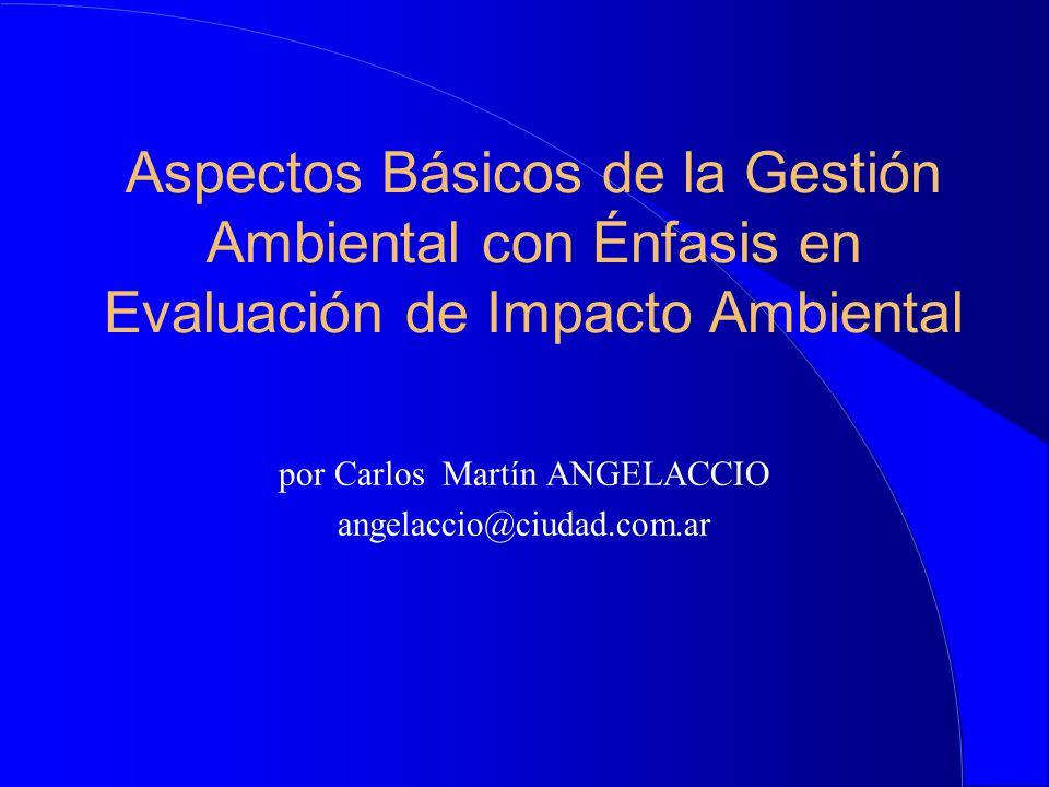 por Carlos Martín ANGELACCIO angelaccio@ciudad.com.ar
