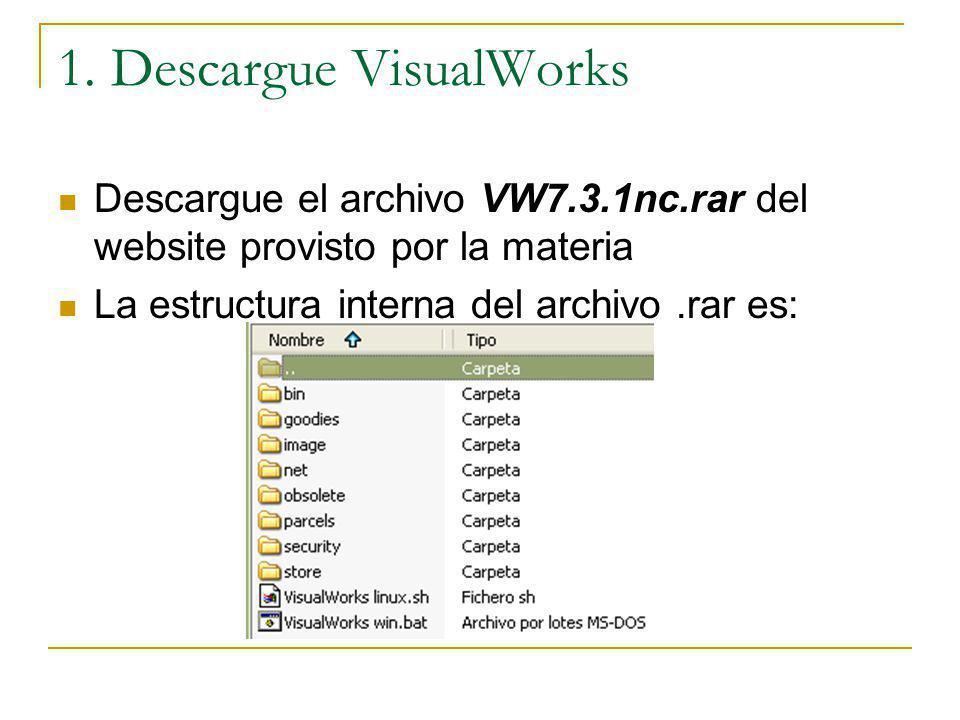 1. Descargue VisualWorks