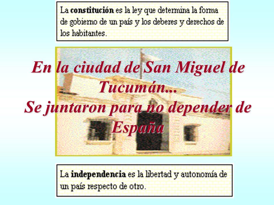 En la ciudad de San Miguel de Tucumán