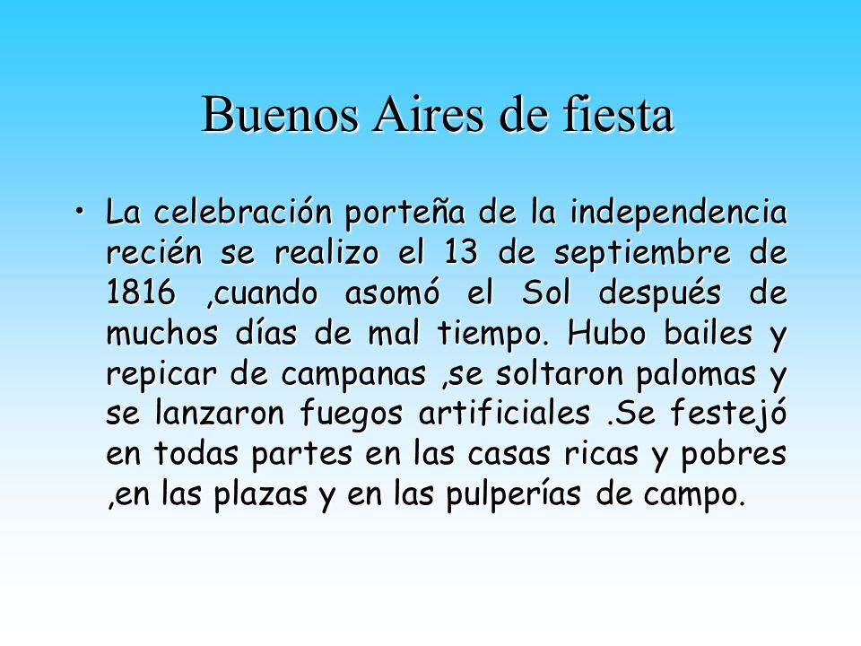 Buenos Aires de fiesta
