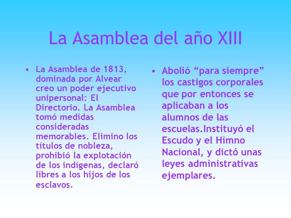 La Asamblea del año XIII