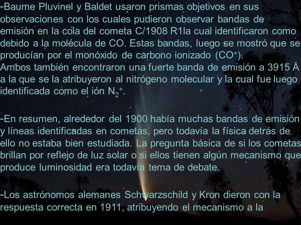 -Baume Pluvinel y Baldet usaron prismas objetivos en sus
