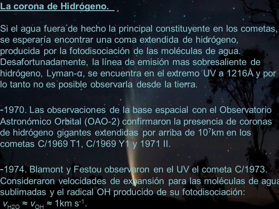-1970. Las observaciones de la base espacial con el Observatorio
