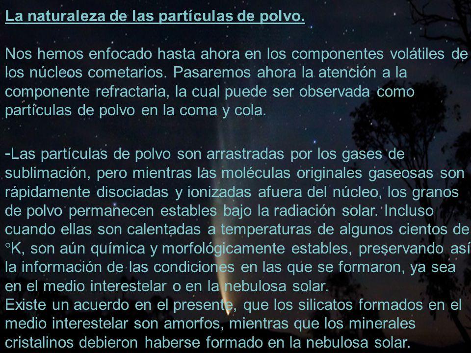 -Las partículas de polvo son arrastradas por los gases de
