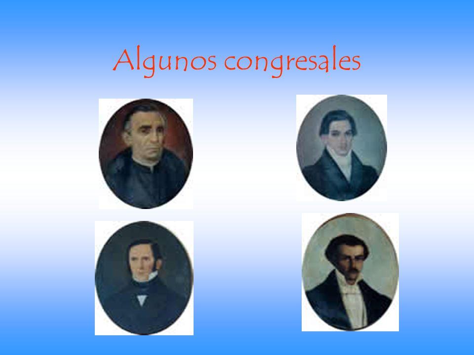 Algunos congresales