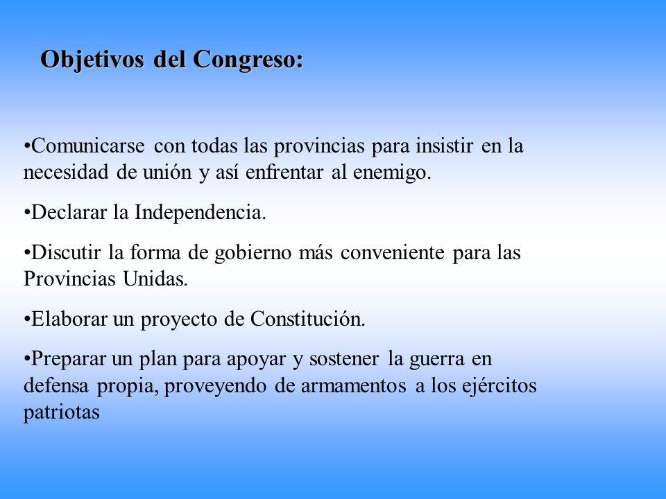 Objetivos del Congreso: