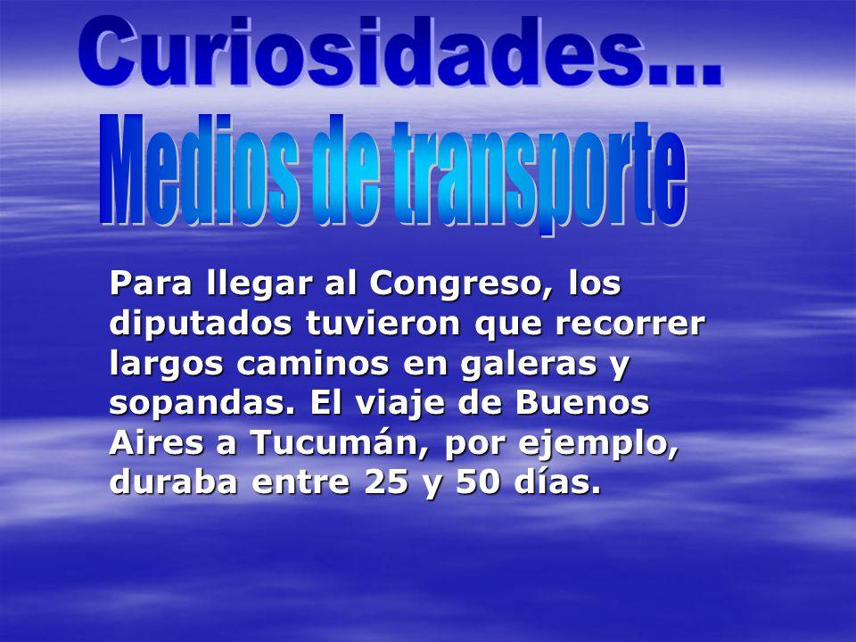 Curiosidades... Medios de transporte