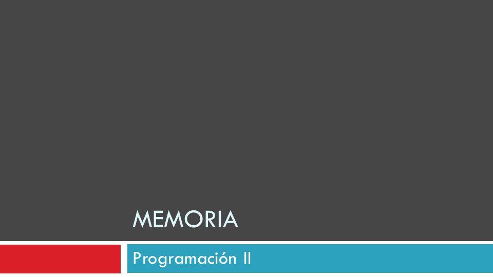MEMORIA Programación II