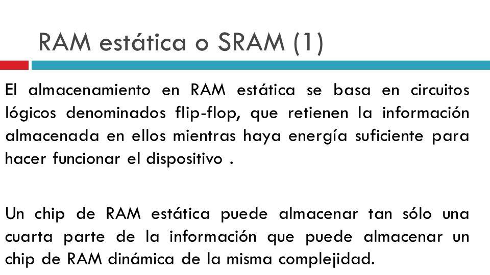 RAM estática o SRAM (1)