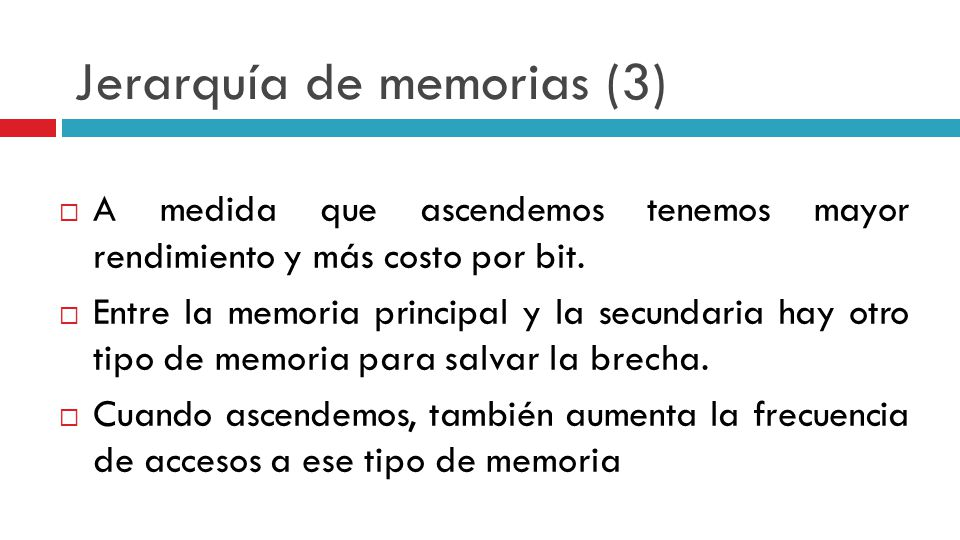 Jerarquía de memorias (3)