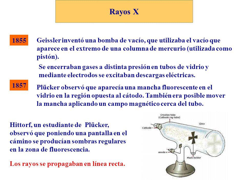 Rayos X 1855.