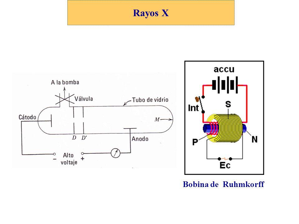 Rayos X Bobina de Ruhmkorff