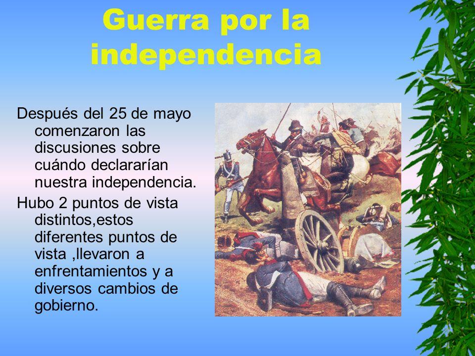Guerra por la independencia