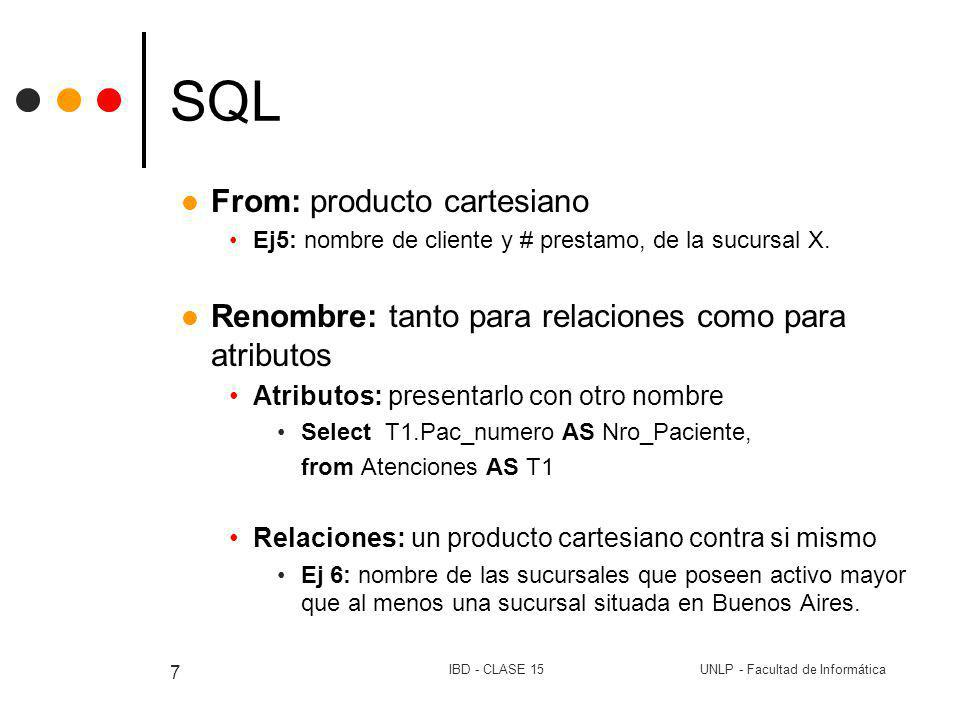 SQL From: producto cartesiano