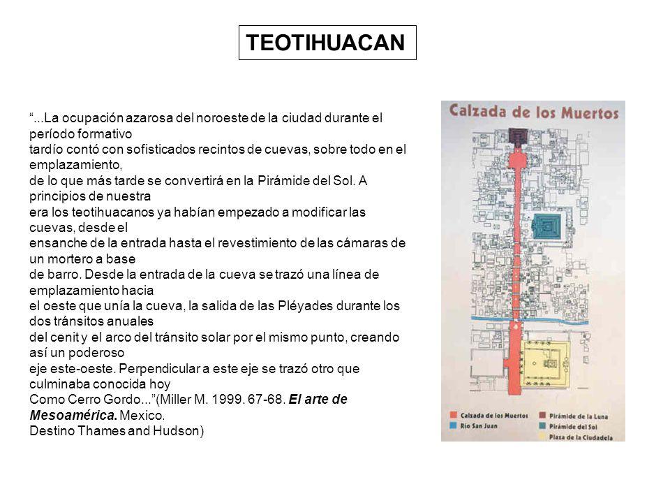 TEOTIHUACAN ...La ocupación azarosa del noroeste de la ciudad durante el período formativo.