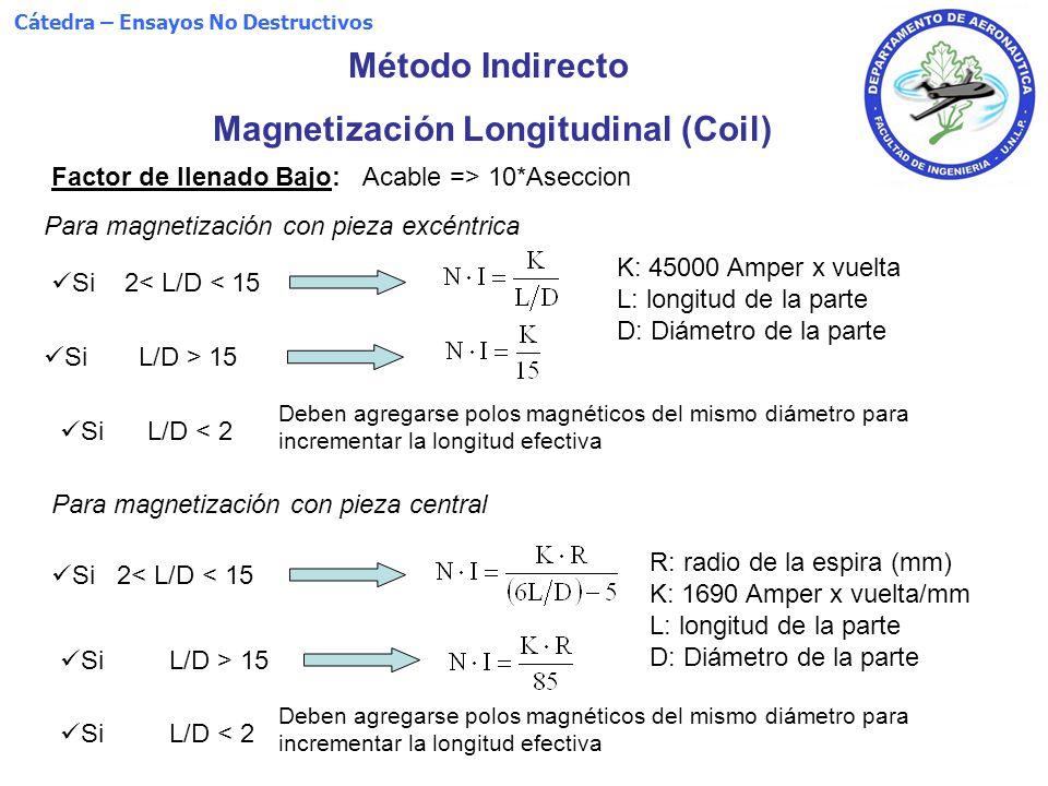 Magnetización Longitudinal (Coil)