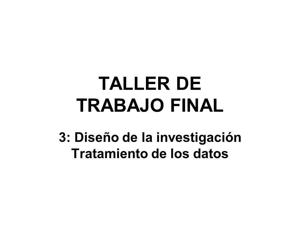 TALLER DE TRABAJO FINAL