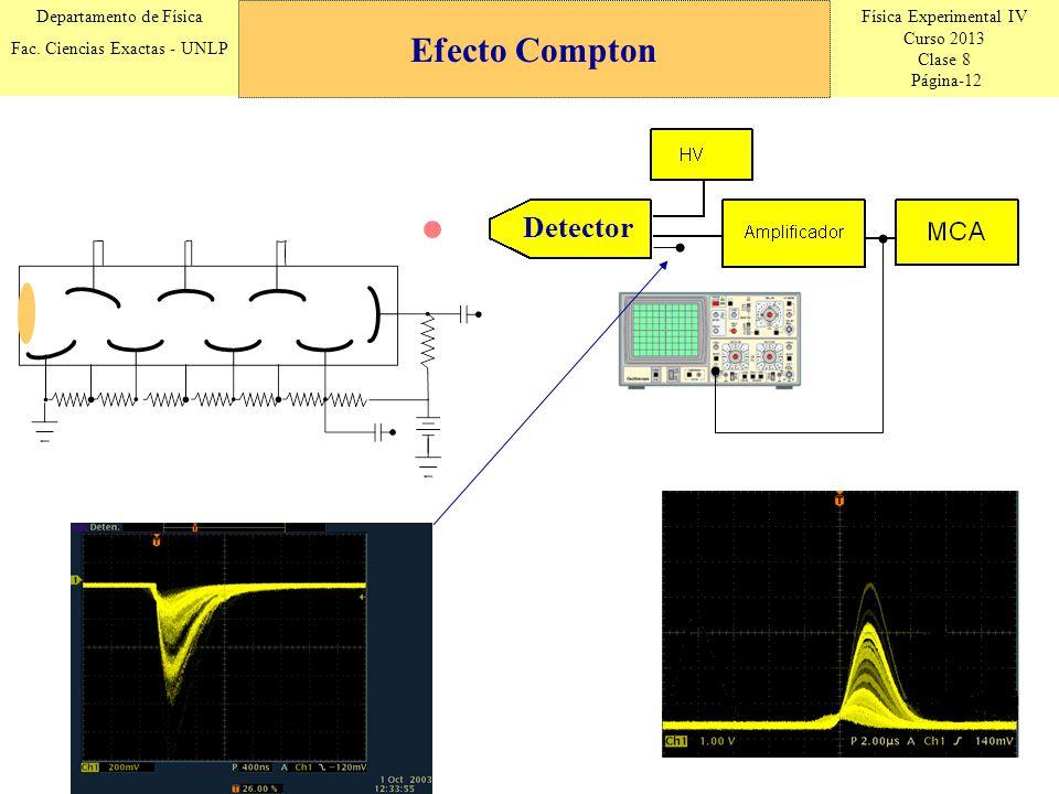 Efecto Compton Detector